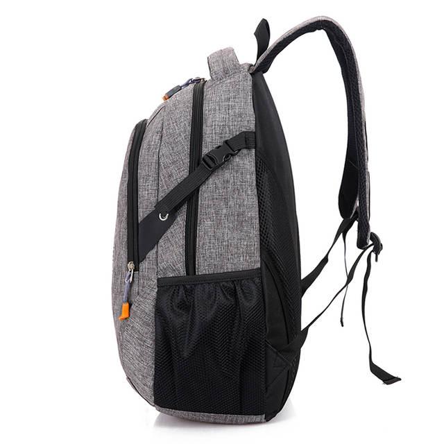 5d6166a2b404 placeholder Unisex School Bag Waterproof Nylon Brand New Schoolbag Business  Men Women Backpack Polyester Bag Shoulder Bags