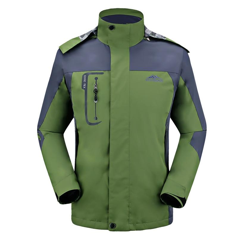 Spomladi jesen moški suknjič moški modni jakni plašč Windbreaker - Moška oblačila - Fotografija 2