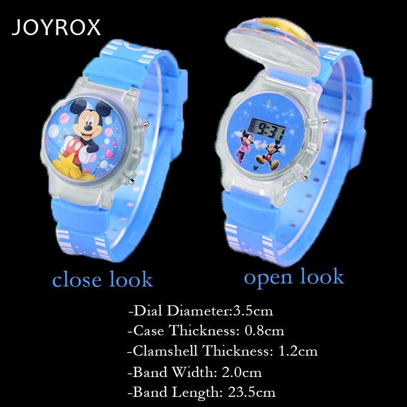 JOYROX Electronic Children Sports Watch 3D Jelly Clamshell Silicone - Barnklockor - Foto 5