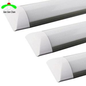 """Image 1 - led tube 18W 2Ft 24"""" 10W 1.1Ft 14"""" LED Batten Linear Light Bar Fluorescent Tube Lamp 36cm 60cm Cool White warm white 110V 220V"""
