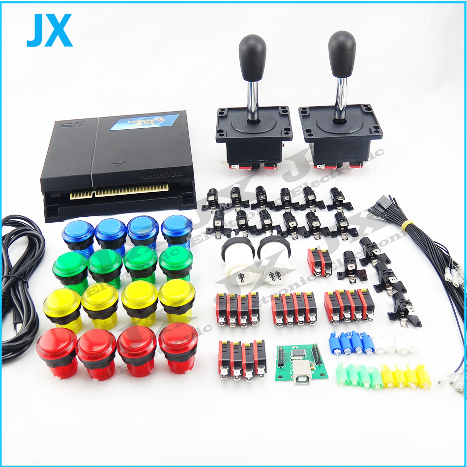 Diy Arcade Parts Bundle 815 In 1 16 Button 2 Joystick For Topic How To Wire Cherry Microswitch Digital Read Mame Jamma Games Kits Coin Operated From Sports