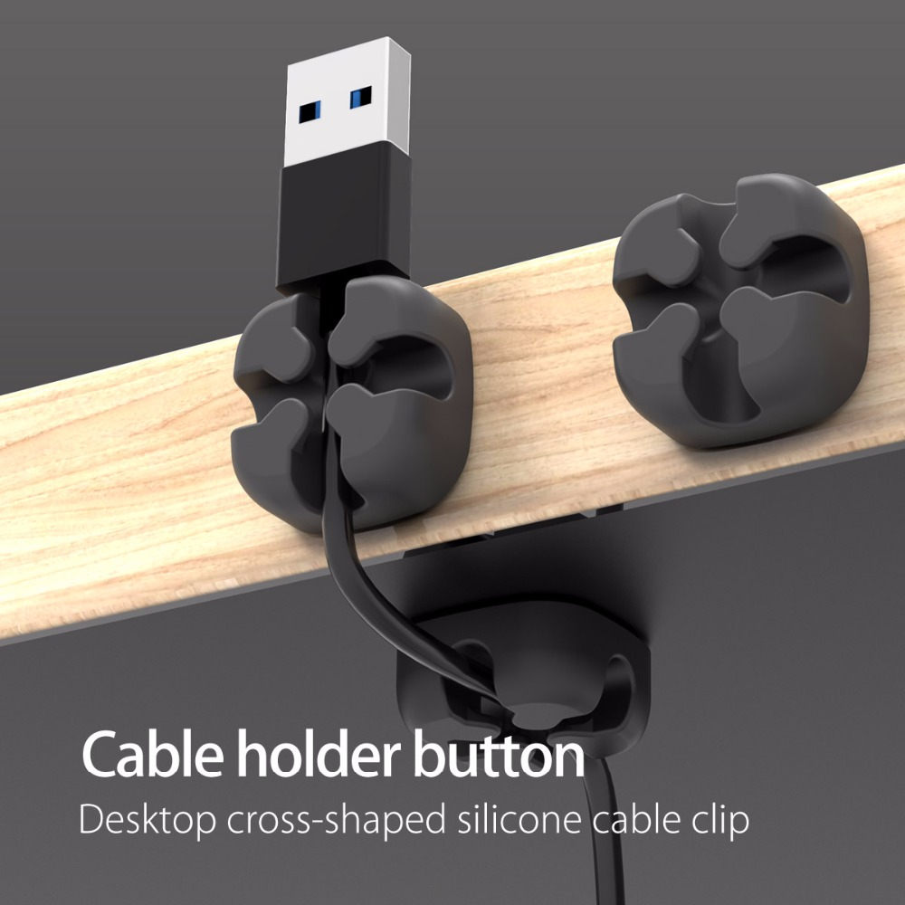medium resolution of orico usb cable winder wire cable organizer desktop clips cord management headphone holder for mouse earphone charging data line in cable winder from