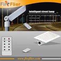 3pcs/lot waterproof 50w led street light 70w led road lamp outdoor with photocell light sensor remote control garden lighting