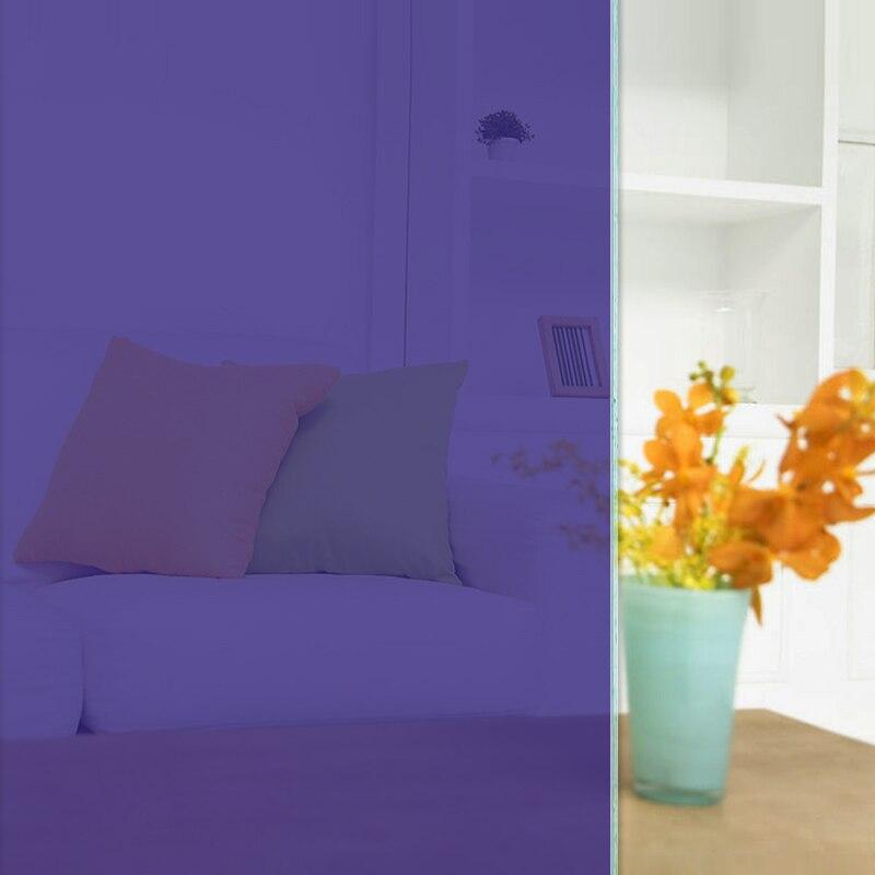 HOHOFILM 1x6 m violet fenêtre Film verre feuille autocollant décoratif feuille de verre solaire teinte fenêtre film décoratif fenêtre teinte