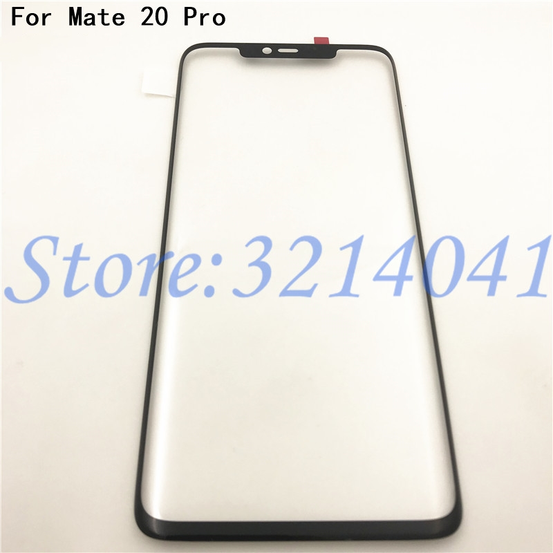 Original 6.39 Inches Touchscreen Front Outer Glass Lens Panel Touch Screen For Huawei Mate 20 Pro Replacement Parts