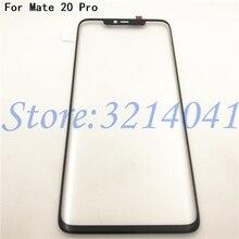 Original 6.39 pouces écran tactile avant extérieur verre lentille panneau écran tactile pour Huawei Mate 20 Pro pièces de rechange