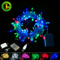 New year christmas outdoor indoor USB LED String lights Battery Box Holiday Xmas garland garland Decorative holiday fairy lights