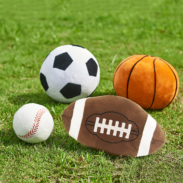Novelty Stuffed Sport Balls 10