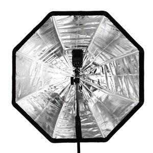 "Image 5 - Godox 95 ס""מ 37.5 אוקטגון אמברלה Softbox אור Stand סוג B חם נעל מחזיק סוגר ערכת עבור Canon ניקון Godox Speedlite פלאש"