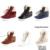 Slipony 2017 Inverno Mulheres Quentes de pelúcia botas de inverno sapatos de Cunha Sapatos Casuais Altura Crescente Botas de Neve Ao Ar Livre À Prova D' Água