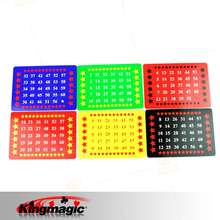 The Calculation Card Magic Trick King Magic toys retail wholesale magic props
