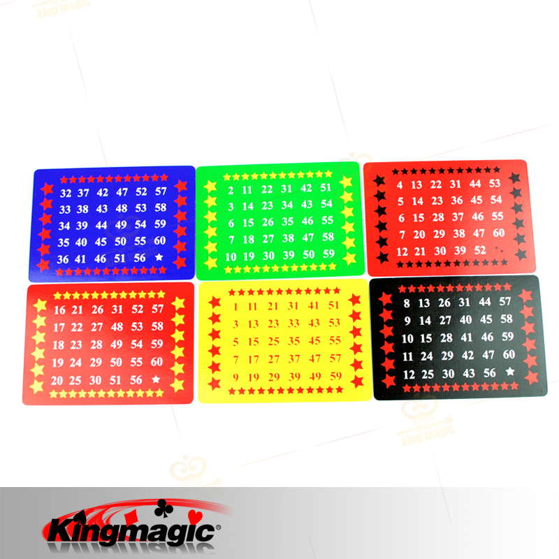 The font b Calculation b font Card Magic Trick King Magic toys retail wholesale magic props