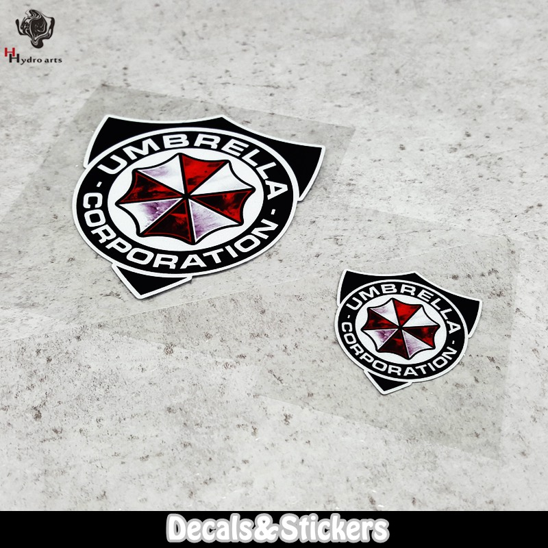 NO.LN045 Umbrella Corporation 3M Material Reflective Stickers MOTO GP Car Sticker Decals Racing Stickers Motorcycle сто газпром 2 3 5 045