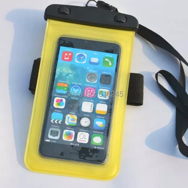 Hot Pvc Waterproof Phone Case Underwater Bag Pouch Dry For Iphone 4 5s Samsung S2 S3 Money Era Shipping