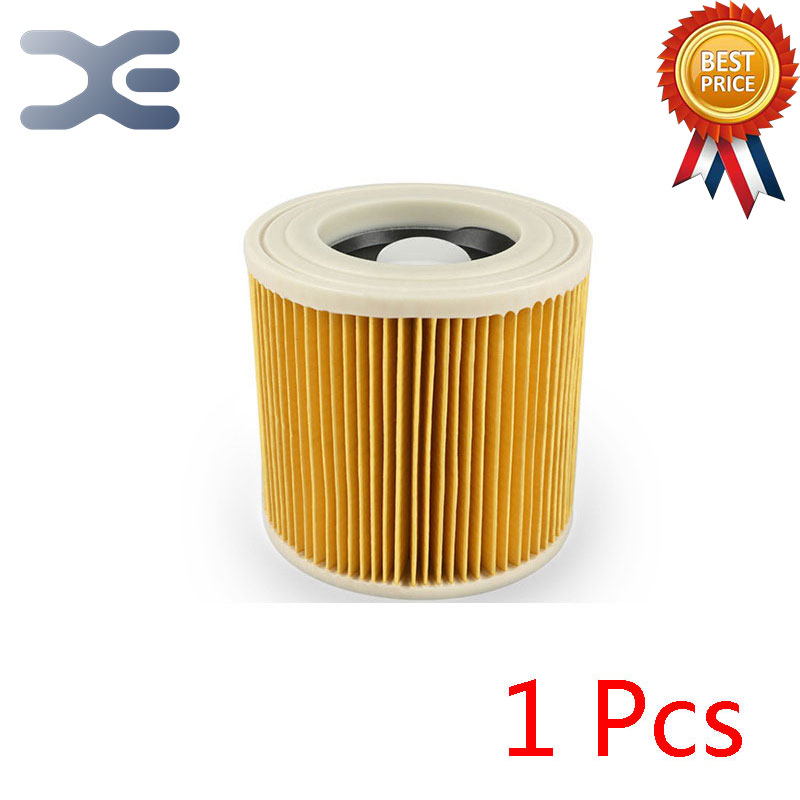 For Karcher A Series Vacuum Cleaner Accessories A2004 / A2204 Filter HEPA Filter replacement filter for karcher a wd series vacuum cleaner cartridge filter for a2004 wd2 250 vacuum cleaner acc spare part 2pcs