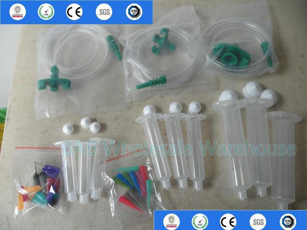 5cc 10cc 30cc Solder Paste Adhesive Glue Liquid Dispenser Syringe Jarum Dispensing Tip