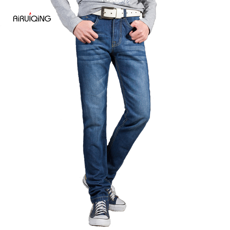 New Arrival Famous Brand Jeans For Men Cheap Jeans China Straigh Regular Fit Denim Jeans Pants Classic Blue Colour  Men Jeans 1 pcs jeans for men cheap china straight regular fit denim jeans pants classic blue color brand clothes size 28 to 38 bn446