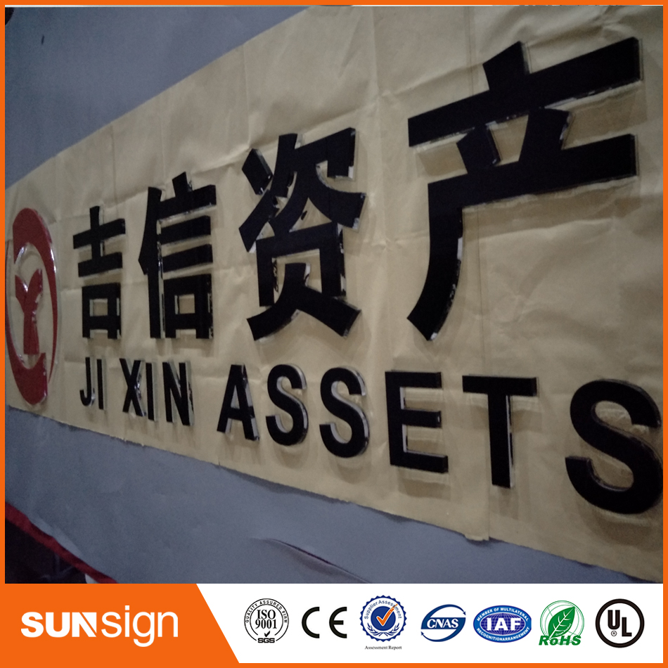 Aliexpress 3D Advertising Frontlit Illuminated Sign For Shop
