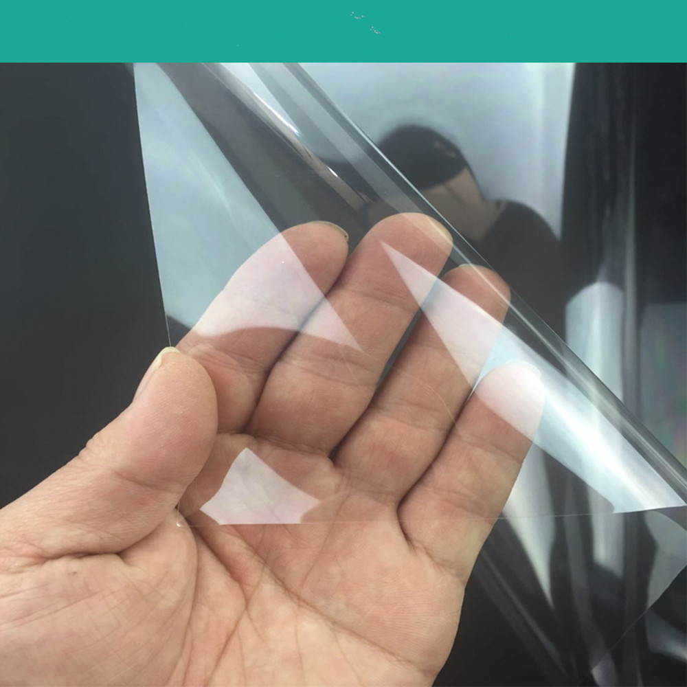 SUNICE самоклеящаяся 0,05 мм/2mil Защитная пленка для окон, прозрачное стекло, Защитная пленка для окна, кухонная пленка для дома 1,83*20 м - 6