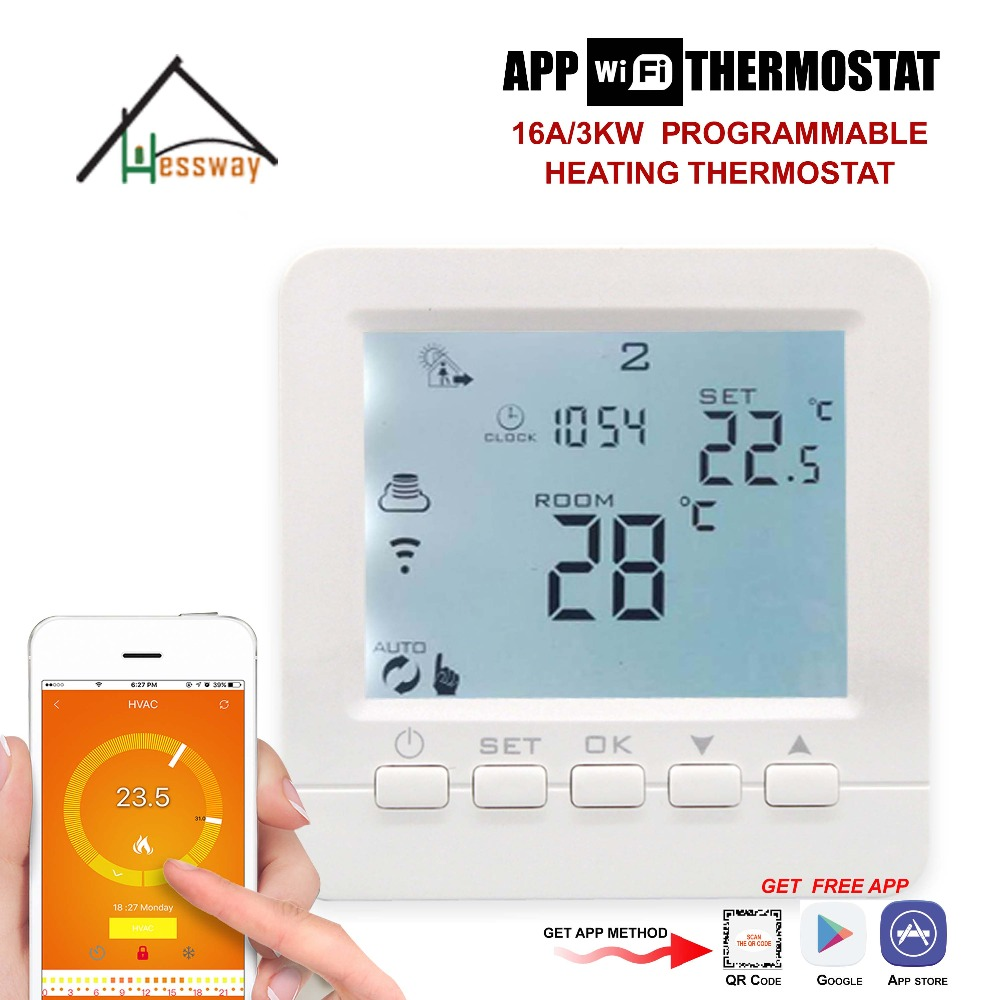 Water valve,Electric actuator,radiator programmable EU wifi room thermostat smart for Underfloor Warm System english russian operating instructions wifi thermostat gas boiler water heating radiator valve for underfloor warm system