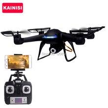 Venta caliente 21 CM actualización DM007-1 RC Drone con HD FPV WIFI tiempo Real Cámara Quadcopter Helicóptero de Juguete de Control Remoto para el Muchacho VS X5W