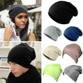 Chic Men Women Warm Winter Ski Beanie Skull Slouchy Oversized Styling Tools Cap Unisex