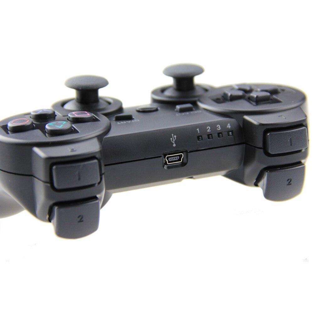 האלחוטי SIXAXIS בקר המשחק עבור ה PS3 בקר כפול רטט ' ויסטיק Joypad Gamepad עבור פלייסטיישן 3 הבקר