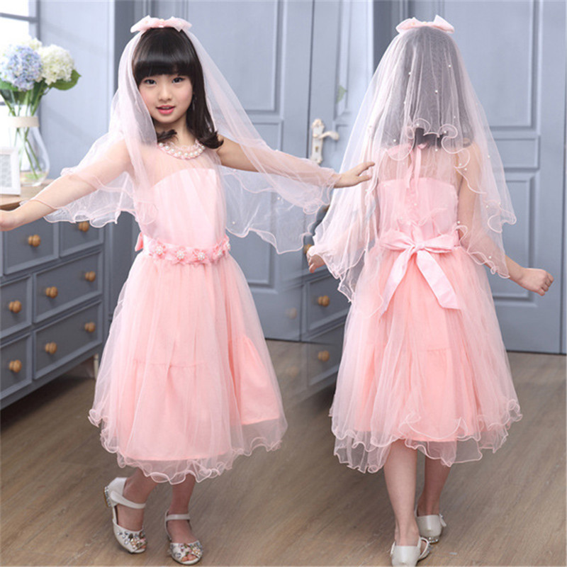 121c74ea3f2b9 US $14.24 40% OFF|luoyamy Summer Girls Lace Strapless Dance Dress  Children's Clothing Graduation Gowns Princess Bow Dress Kids Ball Prom  Dresses-in ...