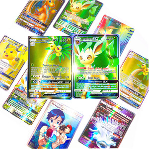 Image 4 - 새로운 도착 베스트 셀러 pokemons 카드 게임 전투 carte 25 50 100pcs 트레이딩 카드 게임 키즈 완구