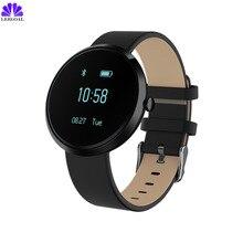 2017 Bluetooth V06 Смарт-часы Приборы для измерения артериального давления сердечного ритма Мониторы Фитнес трекер IP68 Водонепроницаемый OLED SmartWatch для iOS и Android