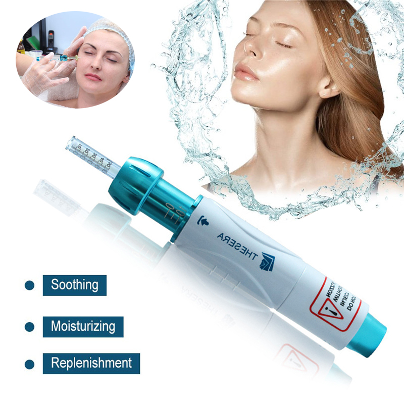 Thesera Hyaluronic Pen Atomizer Noninvasive Hyaluron Gun Wrinkle Removal Beauty Injection Pen Hyaluronic Acid Pen MesoTherapy