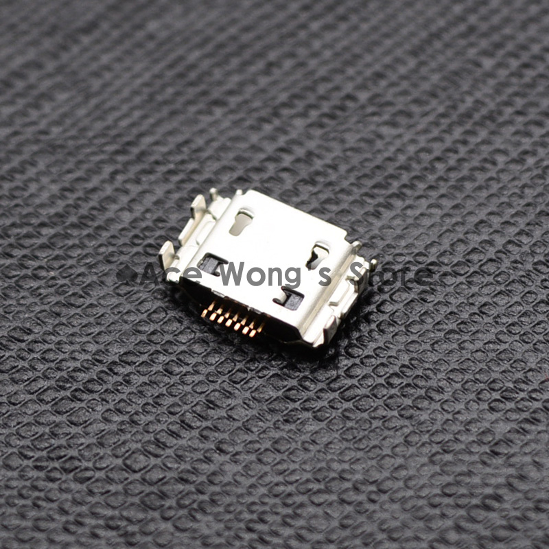 10pcs Micro USB Jack Connector Female 7 pin Charging Socket For samsung I9000 S8000 S5630C S5620 S5660 I8910 I9003 I9008 I9020 купить в Москве 2019