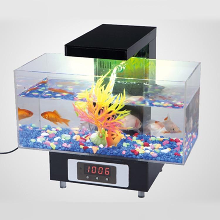Online buy wholesale mini aquarium from china mini for Small fish tanks