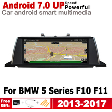 IPS Android 7.0 up car multimedia player gps navigation for BMW 5 Series F10 F11 2013~2017 NBT original style HD screen WiFi BT bluboo picasso 5 0inch ips hd android 5 1 smartphone black