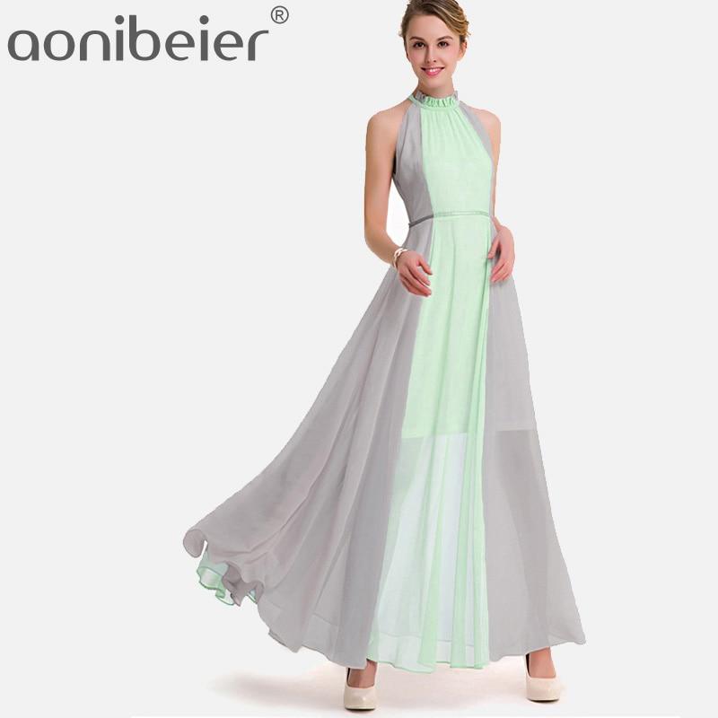 BCBGMAXAZRIA Womens Maryssa Two-Tone Halter Dress