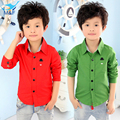 2016 High Quality Spring-Autumn Boy Baby Long-sleeve T-Shirt Casual Shirt 2 Colors Fashion Kids T-shirt Children's Clothing