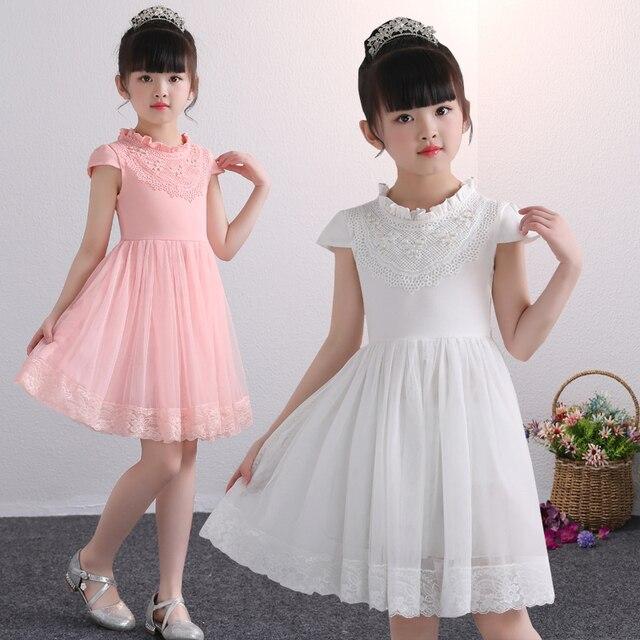 Girls Dresses Teenage Spring Summer Autumn Party Wedding Ball Gown Dress for Girl Long Sleeve Kids Children Tutu Dress 4-12yrs