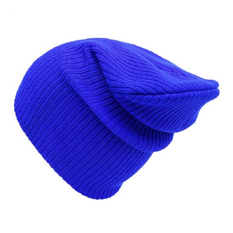 2017 New popular Unisex Hats trench candy colorful knitted hat hip-hop cap squid cap warm solid elastic for women men