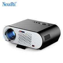 GP90 Newpal Proyector 3200 Lúmenes 1280*768 WIFI Bluetooth Androide LLEVÓ el Proyector Del Soporte AC3 KODI Mini Beamer PK T90