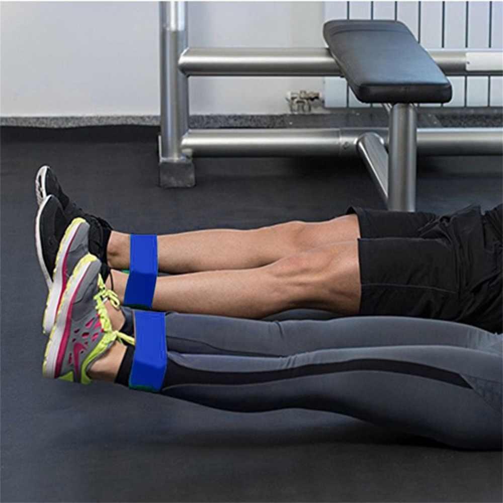 Dorosłych Fitness joga odporność zespoły elastyczny lateks pętli pasa siły ciągnąć pasek kryty do treningów i ćwiczeń trening siłownia sprzęt