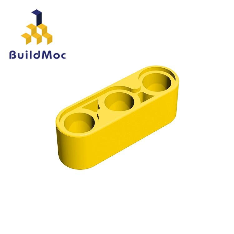 BuildMOC Compatible Assembles Particles 32523 1x3 For Building Blocks DIY LOGO Educational High-Tech Spare Toys