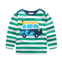 2017 New Fashion Brand Cotton High Quality Children Clothing Long Sleeve Boys T Shirt 18