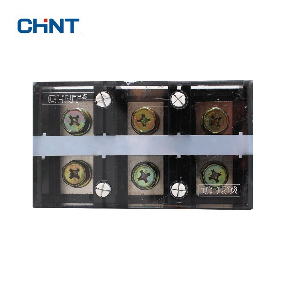 CHNT TC-1503 High Electric Current Connection Terminal Row Inflaming Temperature Resistance