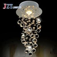 Z Modern Luxury LED Crystal Chandelier D20 x H40cm 3W GU10 LED Bulb Bedroom pendant lamp Corridor light for Hallway Entrance Bar