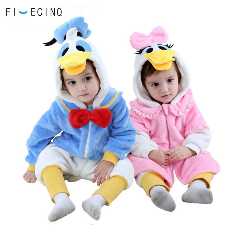 Baby Kid Boy Girl Pajamas Animal Costume Romper Sleepwear Fancy Halloween Party