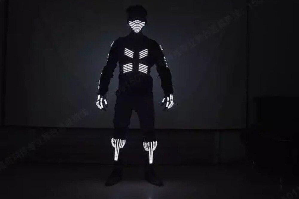 Spectacle de mode Costume scène Performance DJ Bar TV spectacle Cosplay vêtements