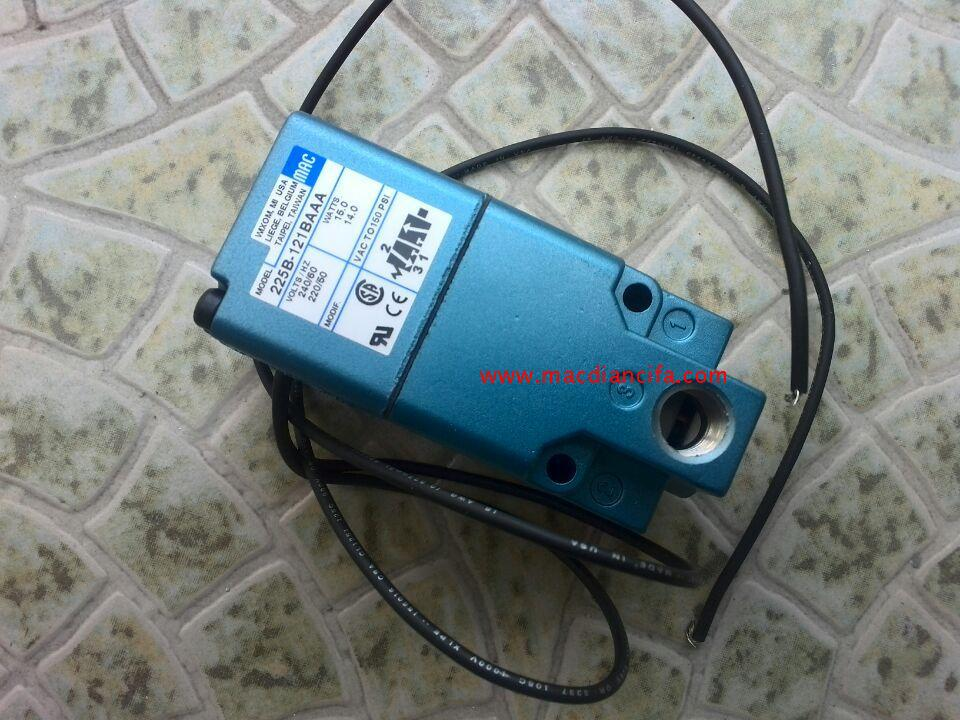 New American MAC high speed solenoid valve 225B-121BAAA mac high speed solenoid valve 34b aba gdfa 1ka