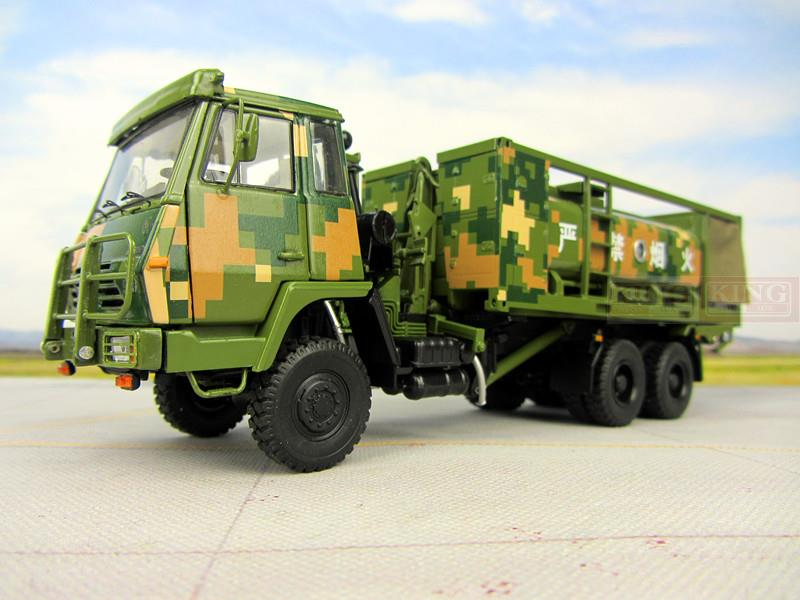 1 43 scale Steyr Truck Oil tanker Chinese army Military Shan Xi Automobile truck PLA heavy