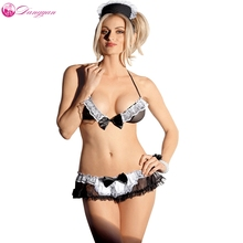 Mesh Sexy Lingerie Hot Maidservant Costumes Sexiest cosplay sexy costume