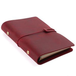 Image 4 - Hot Sale Classic Business Notebook A5 Personal A7 Genuine Leather Cover Loose Leaf Notebook Travel Journal Sketchbook Planner